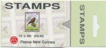PNG SGSB8a 6k. Booklet (SG 231-4) Small Birds, slotted tab